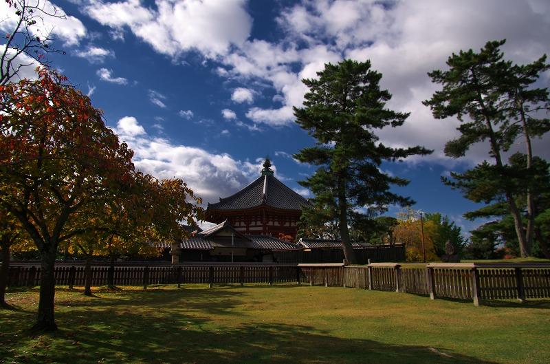 奈良公園 南円堂