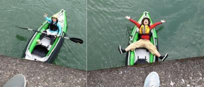 沈下橋で撮影会2