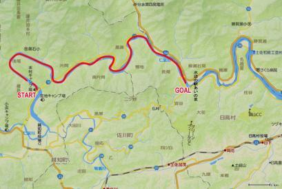 仁淀川地図