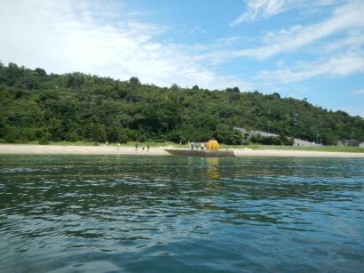 直島にやってきました