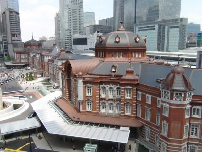 JP TOWERから見た東京駅