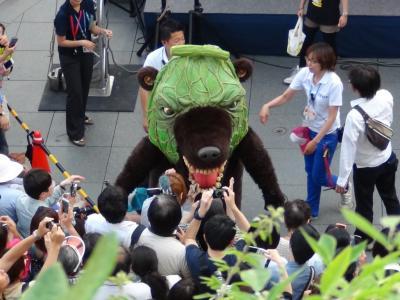 メロン熊暴れる!!