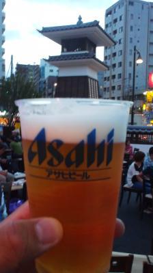 生ビールうまし!!
