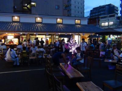 亀戸梅屋敷 ビヤガーデン
