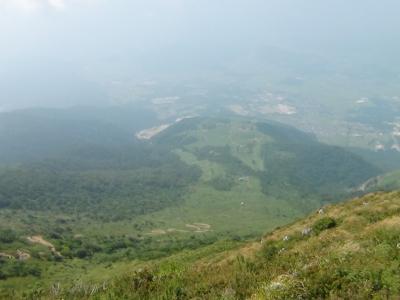 伊吹山から望む景色