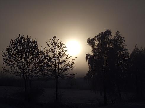 冬型木枯らし風景