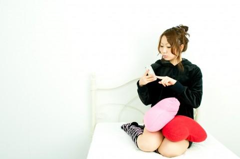 画像メール女性スマホ携帯