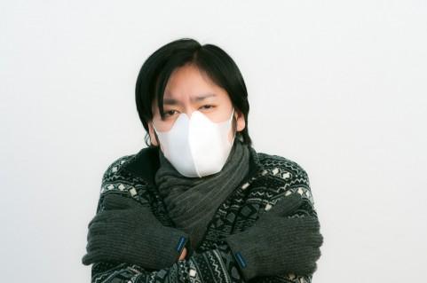 風邪発熱マスク