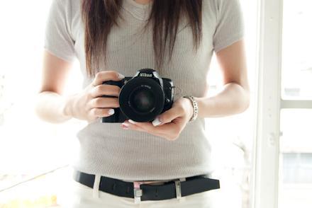 画像カメラ女性