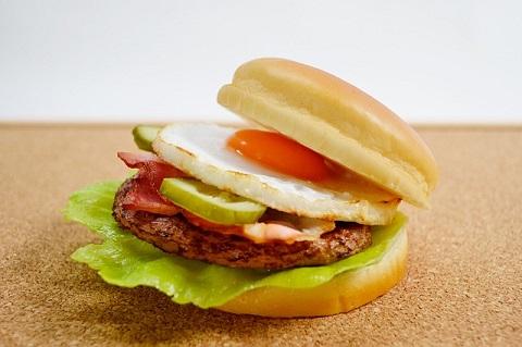 画像ハンバーガー