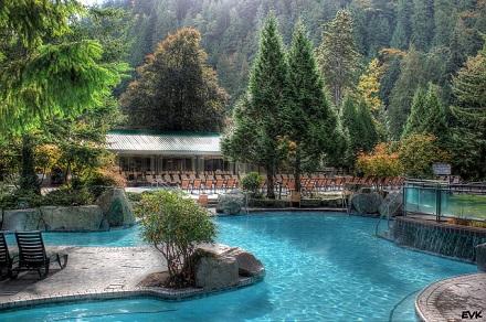 温泉旅行海外リゾート画像