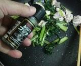 小松菜と鶏肉6