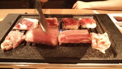 肉屋の台所(コンロ)