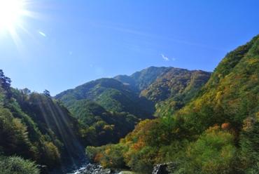 精進が滝遊歩道3