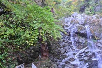 精進が滝遊歩道9