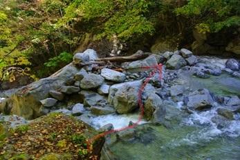 精進が滝遊歩道17