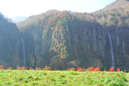 米子大瀑布 全景