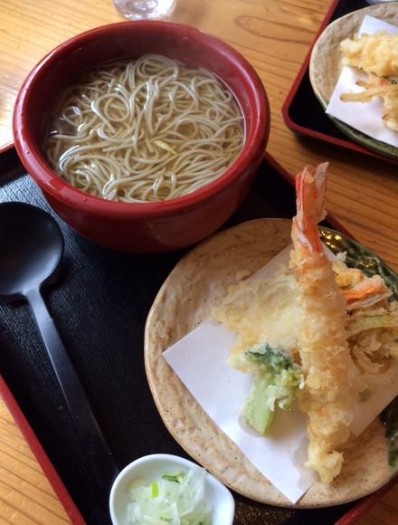 140209田か乃 天ぷら蕎麦