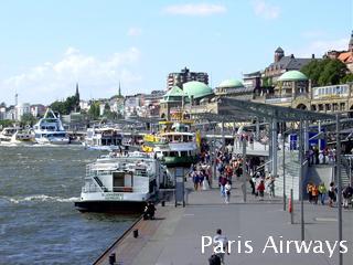 ハンブルグ ザンクト・パウリ桟橋