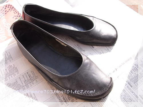 靴磨き001