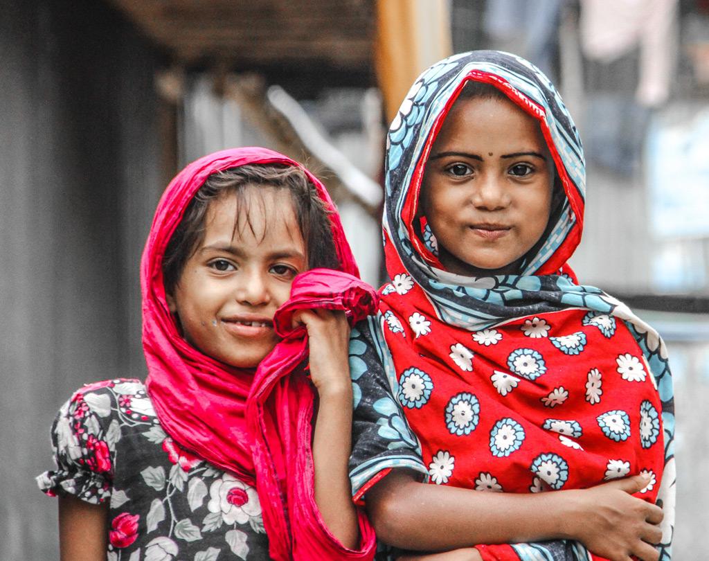 バングラデシュの姉妹