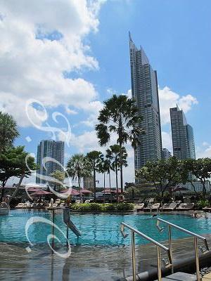 グルンテープウィングデラックスバルコニールーム♪ シャングリラ ホテル バンコク (Shangri-La Hotel, Bangkok) 旅行記