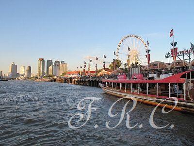 アジアティーク・ザ・リバー・フロント(Asiatique The Riverfront)へ行きました♪