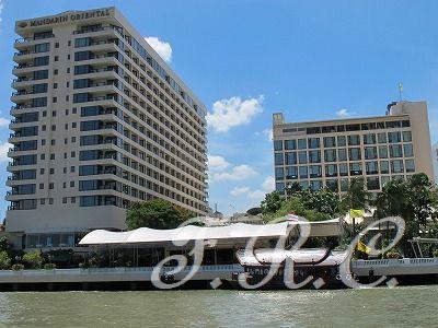 シャングリラ号でのんびりクルージング♪ シャングリラ ホテル バンコク (Shangri-La Hotel, Bangkok) 旅行記