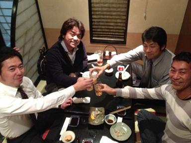 都寿司 乾杯