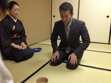 茶飲み 巨匠 高野さん