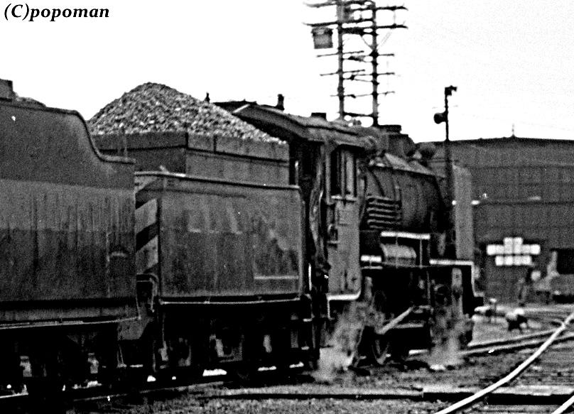 005 (2)1975 8 20 追分機関区 49615 tri アンシャープ2 コントラスト popoman