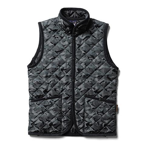 NFLV-01 : narifuri×LAVENHAM quilting vest