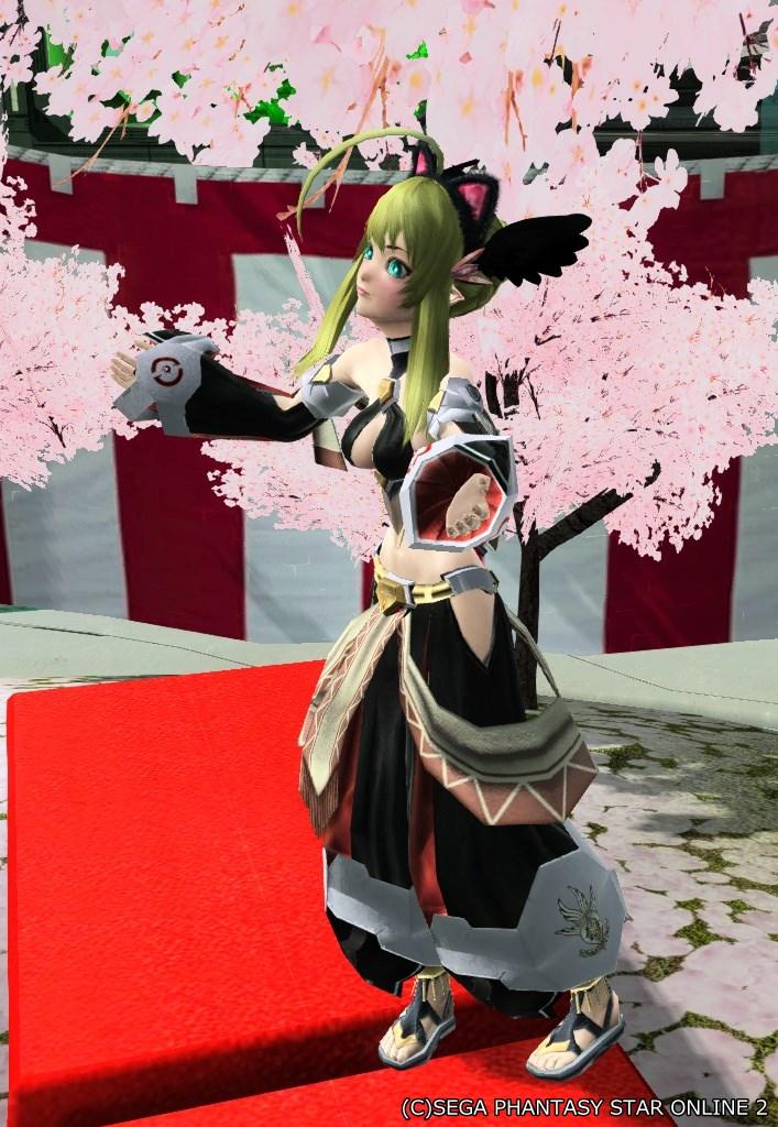 桜とアルフライラ黒