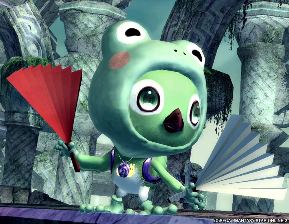 蛙の戦いはこれからだ・・・!