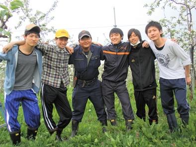 弘前大学の学生さん、ありがとう!!