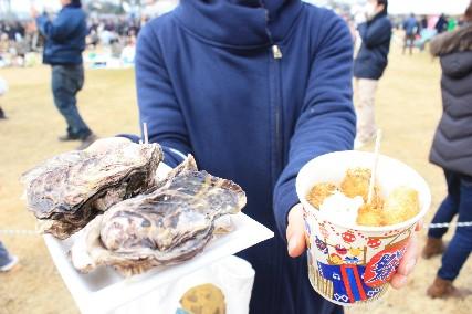 2014赤穂牡蠣フライ&蒸し牡蠣