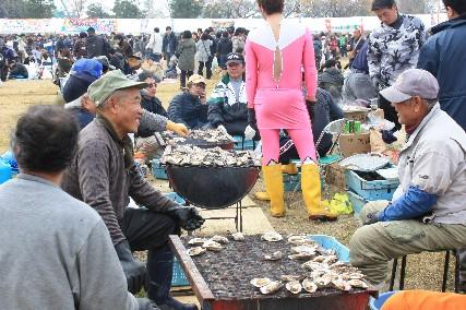 2014赤穂牡蠣祭り