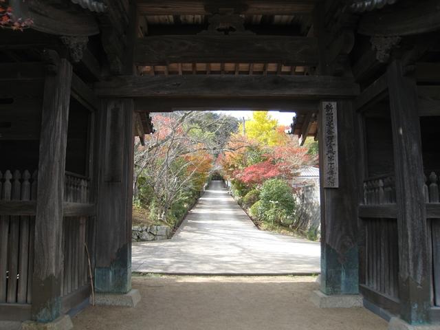 鷲峰寺(じゅうぶじ)の紅葉