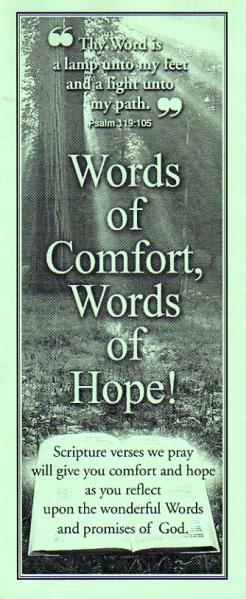 Words of Comfort, Words of Hope ! Family Radio