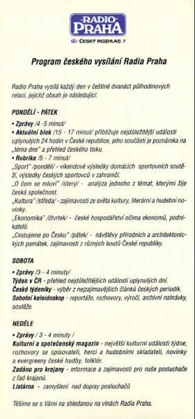 ČESKÝ ROZHLAS 7