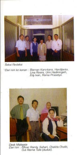 VOICE OF INDONESIA THE OVERSEAS SERVICE OF RADIO REPUBLIK INDONESIA
