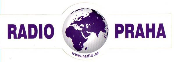 RADIO PRAHA(チェコ)のステッカー