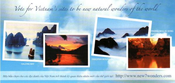 Vote for Vietnam's sites to be new natural wonders of the world