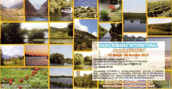 RADIO ROMANIA INTERNATIONAL Summer 2013