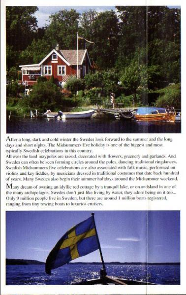2001年3月-2001年10月 ラジオ・スウェーデンのスケジュール表より