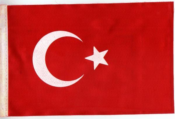 TRT VOICE OF TURKEY(トルコ) ペナントと国旗