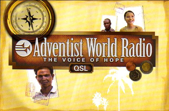 2013年6月19日 カレン語放送受信 ADVENTIST WORLD RADIO