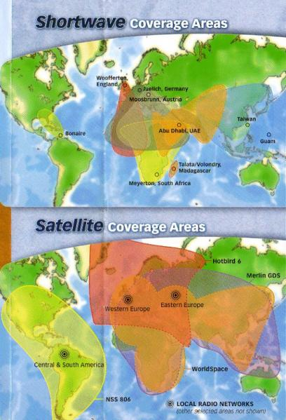06/2005 ADVENTIST WORLD RADIO Broadcast Coverage and Languages