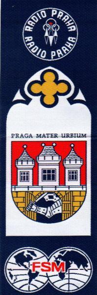 ラジオ・プラハ(チェコ)のペナント