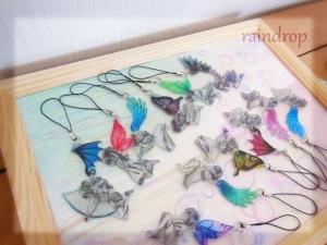 羽ストラップ1007-3